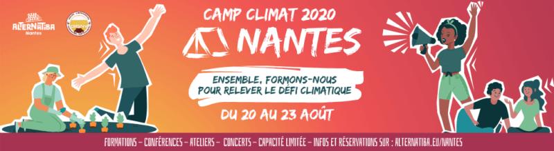 Camp Climat Nantes 2020